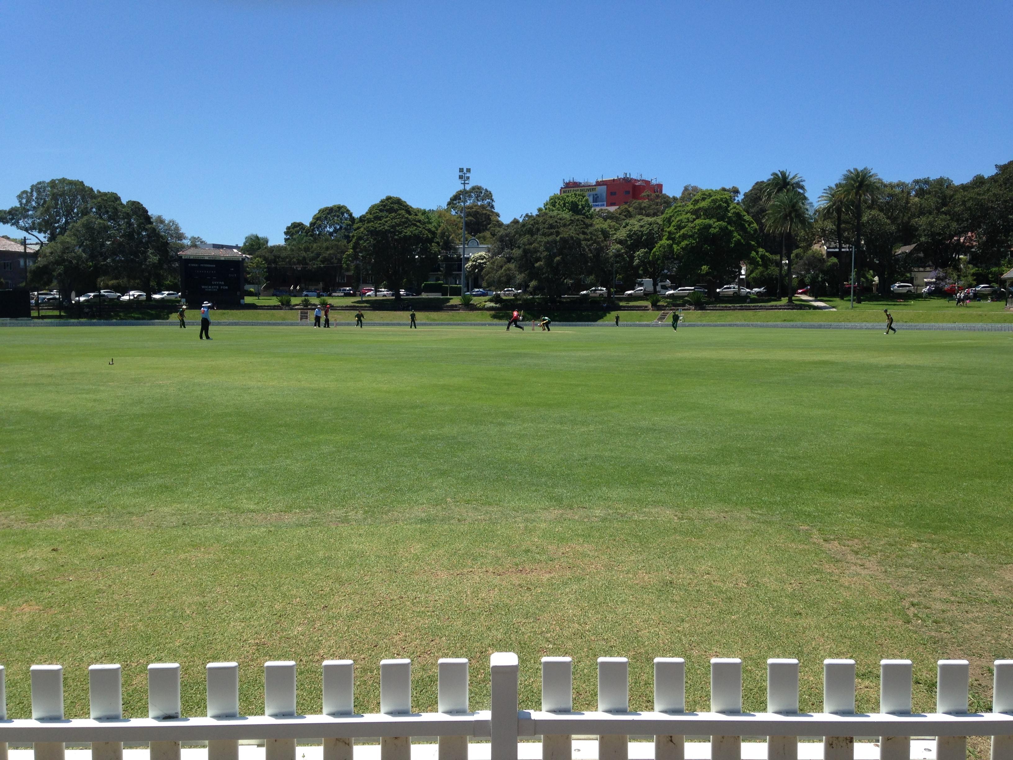 Petersham Oval